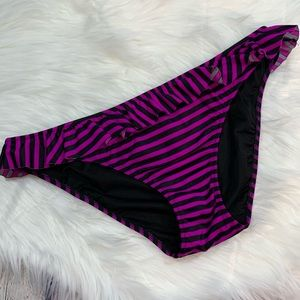 Victoria's Secret Striped Bikini Bottom